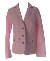 Gant Women's Light Pink Casual Button-Up Jacket 448006 $195 NEW