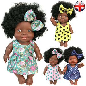 Baby Movable Joint African Doll Toy Black Doll Best Gift Toy Christmas Gifts Fun