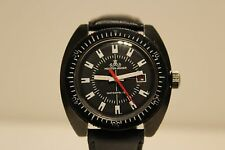 "VINTAGE RARE BLACK DIVER RACING STYLE MEN'S GERMANY WATCH ""MEISTER-ANKER (RUHLA)"