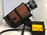 Vintage Sears Model C-125 Super 8 6:1 Auto Zoom Movie Camera UnTested With Strap