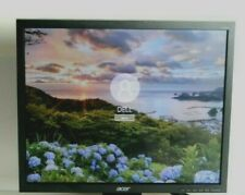 """ACER V193 19"""" TFT LCD MONITOR 1280x1024 DVI VGA GRADE A WITHOUT STAND"""