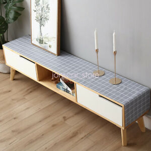 PVC TV Cabinet Table Cloth Waterproof Tea Table Bedside Shoe Cabinet Table Mat