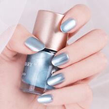 9ml NICOLE DIARY Blue Metallic Nail Polish Mirror Effect Varnish  Decor