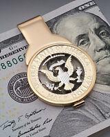 Kennedy Half Dollar Money Clip, United States Half Dollar Money Clip,( # 319M )