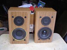 New listing Klh Av2000 2-Way Byass Reflex Front Surround Large Bookshelf Stereo Speakers