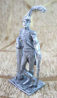 France Officer of the battalion sailors Tin Figure Model 54mm Toy Soldier