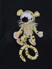 Peluche doudou marsupilami NOUNOURS AJENA 1997 jaune tacheté noir 23 cm TTBE
