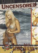 TORRIE WILSON 2004 Fleer WWE DIVAS 2005 UNCENSORED Insert Card  #12DU