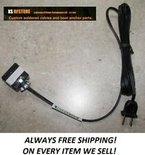 Kenwood ts-520,520s,820,820s CLASSIC Power Cord Assembly  *FREE SHIPPING* NEW
