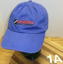 CORDILLERA ENERGY PARTNERS OIL FIELD GAS ADJUSTABLE HAT BLUE IN VERY GOOD COND