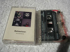 PET SHOP BOYS BEHAVIOUR CASSETTE ALBUM ELECTRONIC SYNTH-POP PARLOPHONE/EMI