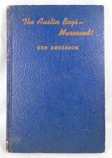 The Austin Boys Marooned Book Vintage 1943 Ken Anderson Young Adult Series