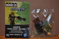 2013 Hasbro Kre-O G.I.Joe A7868 Coll 3 Andrew Footloose Meyers Kreon Figure Oop