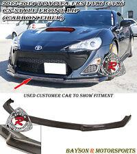 CS-Style Front Lip (Carbon) Fits 12-16 Scion FR-S