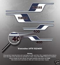 YAMAHA 1978 RD400 DECAL GRAPHIC KIT LIKE NOS