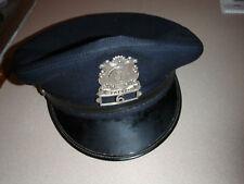 VINTAGE  Augusa MAINE  Police Department  UNIFORM HAT  STATE PATROL HAT