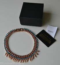 NEW AUTHENTIC MAWI NECKLACE ROSE GOLD WITH SWAROVSKI CRYSTALS £495 BOXED   GIFT