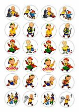 24I Caillou Glaseado Comestible Hadas/Cup Cake Toppers