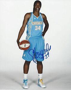SYLVIA FOWLES AUTOGRAPH SIGNED 8X10 PHOTO CHICAGO SKY WNBA COA