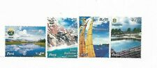 PERU 2004 TOURISM LANDSCAPES SET OF 4 MNH COMPLETE SET Scott 1424-27 MI 1939/42