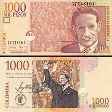 COLOMBIA - 1000 pesos oro 2015 FDS - UNC