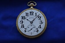 ILLINOIS BUNN SPECIAL RAILROAD POCKET WATCH