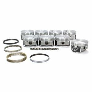 """Wiseco K398X7 Standard Stroke Piston Set - 4.070"""" Bore; -3.2cc; For GM LS NEW"""