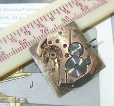 1958 Omega Watch Co Gents Caliber 302 17J 2 Adjusts Movt Dial Hands- RUNS !!