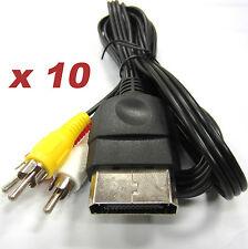 10 x 6FT Stereo RCA AV Cables for the Original XBOX - Old Skool