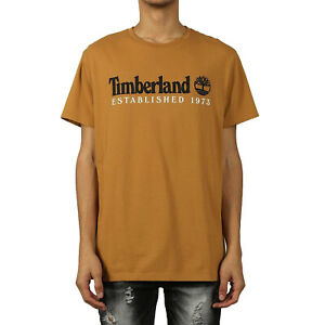 Timberland Men's Short Sleeve Core Established Tee Wheat TB0A1YVG-P57