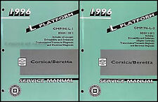 1996 Chevy Corsica and Beretta Repair Shop Manual 2 Volume Set 96 X26 Service
