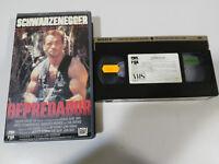 DEPREDADOR PREDATOR ARNOLD SCHWARZENEGGER McTIERNAN - VHS EDICION ESPAÑOLA &