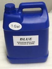 1 Gallon(7.5 LBS) Premium Blue Indicating Silica Gel Desiccant Beads