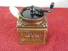 Vintage Commodore Instant Coffee Container w/ Spoon (SH)