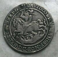 1609 German States Mansfeld-Eigentliche-Hinterort Thaler - VF Details