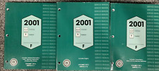 2001 Chevy CAMARO PONTIAC FIREBIRD Service Shop Repair Manual Set OEM GM