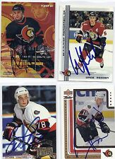 1994 Fleer Ultra #337 Pavol Demitra RC Ottawa Senators Signed Autographed Card