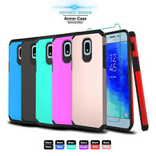 For Samsung Galaxy J3 V 2018/Orbit/Star/SM-J337A Case Cover + Screen Protector