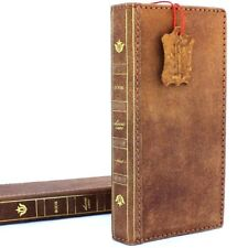 genuine leather Case for samsung galaxy note 8 bible book wallet soft