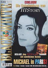 Michael Jackson Black & White #12 German DE Magazine Fanzine 1995