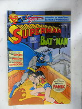 1 x Comic  Superman Batman  Nr.8  mit Sammel Ecke  (Apr 1980)    Z. 2