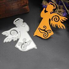 Angel Cutting Dies Stencils Scrapbook Album Embossing Paper Card DIY Craft Decor