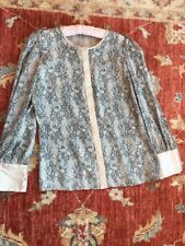 REISS Pure Silk Satin Blouse Size 12 Excellent Condition