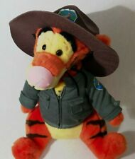 "Tigger the Safari Ranger from Winnie the Pooh 15"" Plush Pre-owned Medium/Large"