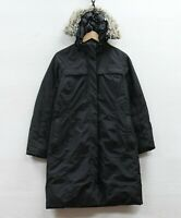 The North Face Parka Jacket Womens Size Medium Black Down Insulated Fur Hood