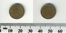 Iceland - Kingdom 1940 - 1 Eyrir Bronze Coin - Christian X