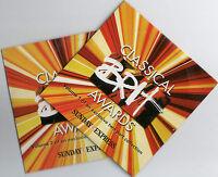 CLASSICAL BRIT AWARDS: 2 CD SET (2004) HAYLEY WESTENRA, RENEE FLEMING, EINAUDI