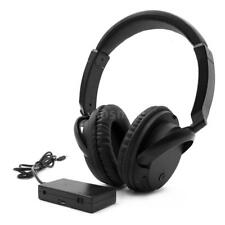 Over-Ear Wireless Headphones AUX Transmitter 3.5mm & RCA Wired Headset Mic