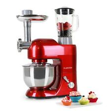 Electric Stand Mixer Kitchen Machine Food Processor Pasta Maker Meat Mincer Red