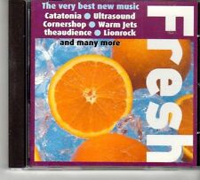 (FD641A) Fresh, 17 tracks various artists - sealed 1998 Select Magazine CD